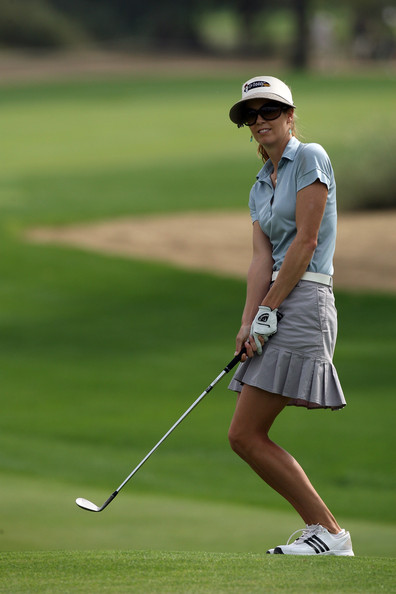 Anna+Rawson in Dubai Ladies Masters - Round Four