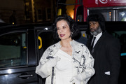 Bianca Jagger attends the Portrait Gala at National Portrait Gallery on March 12, 2019 in London, England.