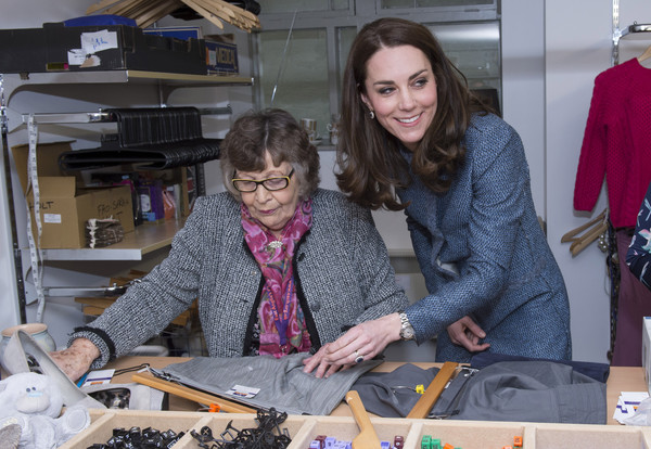 The Duchess of Cambridge Opens New EACH Charity Shop in Holt, Norfolk