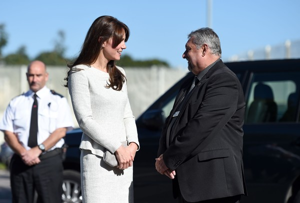 Duchess of Cambridge Visits Rehabilitation of Addicted Prisoners Trust at HMP Send