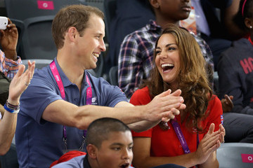 Duchess of Cambridger Royals At The London 2012 Paralympic Games