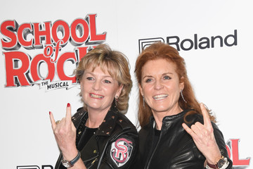 Duchess of York Opening Night Of 'School Of Rock The Musical' - Red Carpet Arrivals