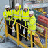 Sultan Ahmed Bin Sulayem Photos - Prince William, Duke of Cambridge (second right) stands on a gantry atop one of the ship container cranes, with DP World chairman Sultan Ahmed Bin Sulayem (left), William Hague (second left) and DP World CEO Simon Moore during a visit to DP World London Gateway on March 14, 2016 in Stanford-le-Hope, in Essex. The visit is to highlight an agreement that has been reached with the transport sector to crack down on global wildlife trafficking routes. - The Duke of Cambridge and Lord Hague Visit London Gateway
