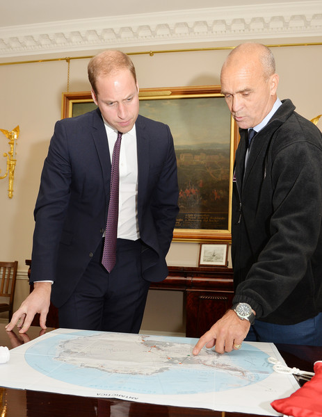 The Duke of Cambridge Receives Henry Worsley at Kensington Palace