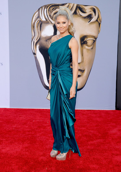 Anna Kournikova arrives at the BAFTA Brits To Watch event held at the Belasco Theatre on July 9, 2011 in Los Angeles, California.