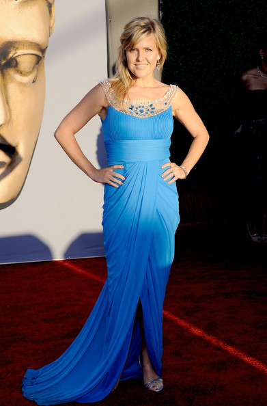 Actress Ashley Jensen arrives at the BAFTA Brits To Watch event held at the Belasco Theatre on July 9, 2011 in Los Angeles, California.