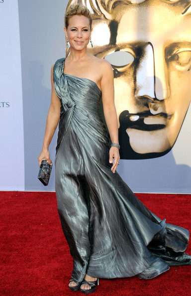 Actress Maria Bello arrives at the BAFTA Brits To Watch event held at the Belasco Theatre on July 9, 2011 in Los Angeles, California.