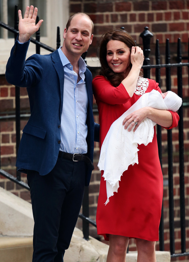 See the First Pics of Kate Middleton, Prince William and