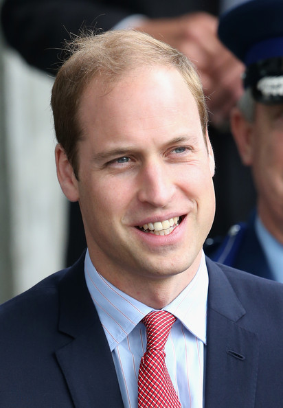 Prince William, Duke of Cambridge visits Christchurch City Council Buildings on April 14, 2014 in Christchurch, New Zealand. The Duke and Duchess of Cambridge are on a three-week tour of Australia and New Zealand, the first official trip overseas with their son, Prince George of Cambridge.