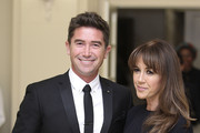 Harry Kewell and Sheree Murphy attend a reception hosted by the Governor General Peter Cosgrove and Her excellency Lady Cosgrove at Government House on April 24, 2014 in Canberra, Australia. The Duke and Duchess of Cambridge are on a three-week tour of Australia and New Zealand, the first official trip overseas with their son, Prince George of Cambridge.