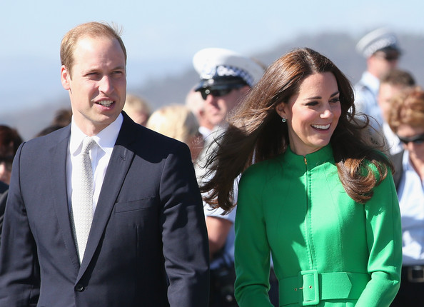 Catherine, Duchess of Cambridge and Prince William, Duke of Cambridge visit the National Arboretum on April 24, 2014 in Canberra, Australia. The Duke and Duchess of Cambridge are on a three-week tour of Australia and New Zealand, the first official trip overseas with their son, Prince George of Cambridge.