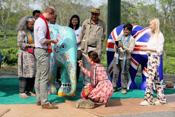 The Duke and Duchess of Cambridge Visit India and Bhutan - Day 4