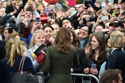 Catherine, Duchess of Cambridge pictured on the third day of first official visit to Ireland on March 5, 2020 in Galway, Ireland.