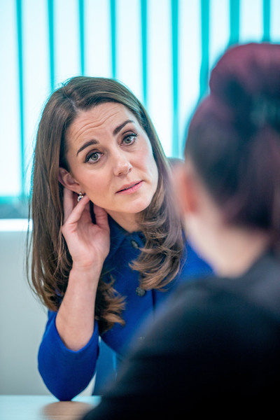 Kate Middleton In The Duke And Duchess Of Cambridge Visit South