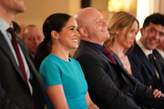 Meghan, Duchess of Sussex and Ross Kemp during the annual Endeavour Fund Awards at Mansion House on March 5, 2020 in London, England. Their Royal Highnesses will celebrate the achievements of wounded, injured and sick servicemen and women who have taken part in remarkable sporting and adventure challenges over the last year.