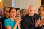 Meghan, Duchess of Sussex and Ross Kemp attend the annual Endeavour Fund Awards at Mansion House on March 5, 2020 in London, England. Their Royal Highnesses will celebrate the achievements of wounded, injured and sick servicemen and women who have taken part in remarkable sporting and adventure challenges over the last year.