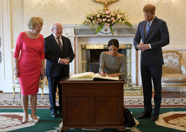 The Duke And Duchess Of Sussex Visit Ireland - 215 of 391