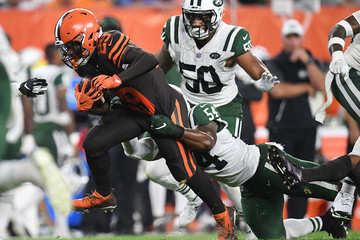 Duke Johnson New York Jets v Cleveland Browns
