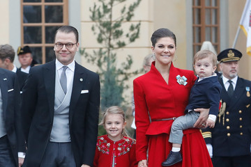 Duke of Vastergotland Christening of Prince Gabriel of Sweden