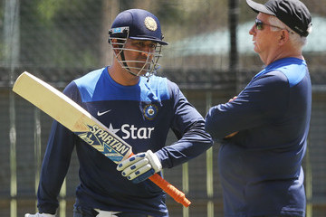 Duncan Fletcher India Training Session