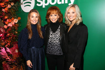 Dustee Jenkins Spotify Celebrates The Launch Of Its New Podcast With Country Icon Reba McEntire
