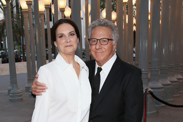 Dustin Hoffman Lisa Hoffman LACMA 50th Anniversary Gala Sponsored By Christies - Red Carpet