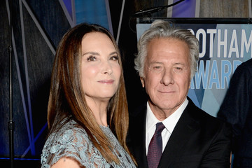 Dustin Hoffman Lisa Hoffman Lindt Chocolate at the 2017 IFP Gotham Awards
