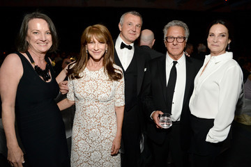 Dustin Hoffman Lisa Hoffman LACMA 50th Anniversary Gala Sponsored By Christies - Inside