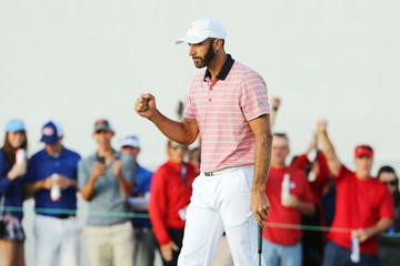 Dustin Johnson The Presidents Cup - Round Two