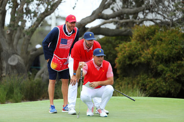 Dustin Johnson 2019 Presidents Cup - Day 1