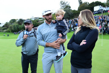 Dustin Johnson Paulina Gretzky The Masters - Preview Day 1