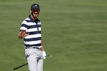 Dustin Johnson The Presidents Cup - Round One