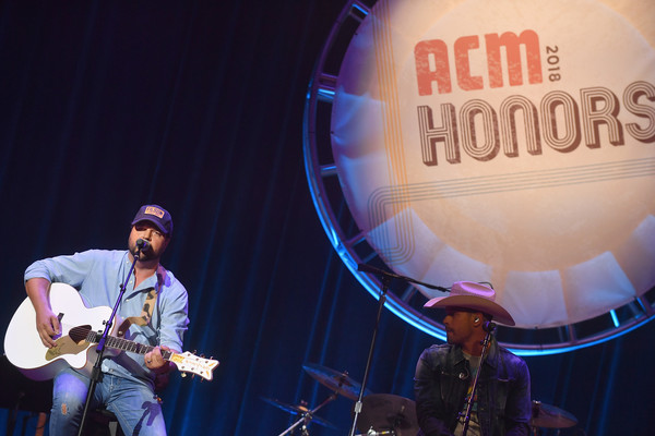 12th Annual ACM Honors - Show [music,performance,entertainment,musician,music artist,performing arts,event,musical instrument,stage,concert,dustin lynch,dallas davidson,l-r,nashville,tennessee,ryman auditorium,acm honors - show,acm honors]