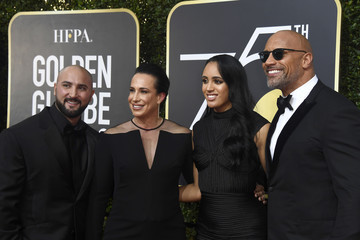 Dwayne Johnson 75th Annual Golden Globe Awards - Arrivals