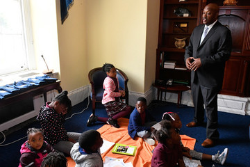 Dwight Evans Feeding America Event - Kids on Capitol Hill