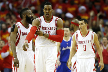 Dwight Howard James Harden Los Angeles Clippers v Houston Rockets - Game Seven