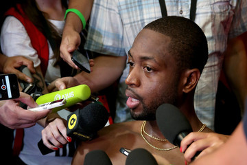 Dwyane Wade NBA Global Games Rio: Practice