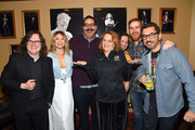 """(L-R) Actors Clark Duke, Ari Graynor, Erik Griffin, Melissa Leo, Michael Angarano, Andrew Santino, and Al Madrigal attend the """"I'm Dying Up Here"""" premiere 2017 SXSW Conference and Festivals on March 15, 2017 in Austin, Texas."""