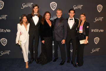 Dylan Brosnan The 2020 InStyle And Warner Bros. 77th Annual Golden Globe Awards Post-Party - Red Carpet
