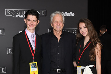 Dylan Michael Douglas Premiere of Walt Disney Pictures and Lucasfilm's 'Rogue One: A Star Wars Story' - Arrivals