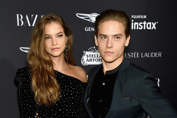 Dylan Sprouse Barbara Palvin Harper's BAZAAR Celebrates 'ICONS' At The Plaza Hotel
