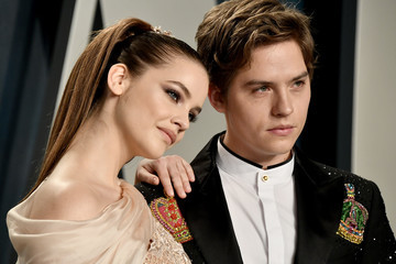 Dylan Sprouse Barbara Palvin 2020 Vanity Fair Oscar Party Hosted By Radhika Jones - Arrivals