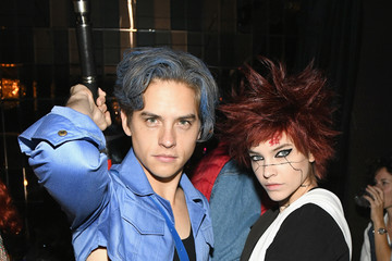 Dylan Sprouse Barbara Palvin Heidi Klum's 19th Annual Halloween Party Sponsored By SVEDKA Vodka And Party City At Lavo NYC