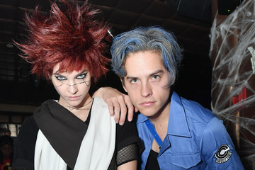 Dylan Sprouse Barbara Palvin Heidi Klum's 19th Annual Halloween Party Presented By Party City And SVEDKA Vodka At LAVO New York - Inside