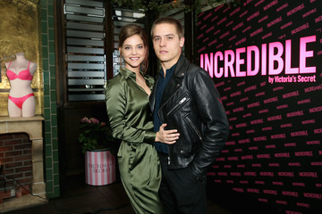 Dylan Sprouse Barbara Palvin Angel Barbara Palvin And Rocky Barnes Celebrate The New Incredible By Victoria's Secret Collection In Los Angeles