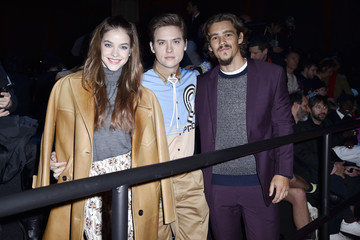 Dylan Sprouse Barbara Palvin Prada Fall/Winter 2020/21 Menswear Fashion Show – Arrivals And Front Row