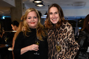 """(L-R) Annette Weber and Ingrid Rose attend E! Red Carpet Influencer Suite promoting """"Live from the Red Carpet"""" on german E! Entertainment at Soho House on January 10, 2016 in Berlin, Germany."""