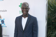 Peter Mensah attends the EARTHxGlobal Gala on April 21, 2017 in Dallas, Texas.
