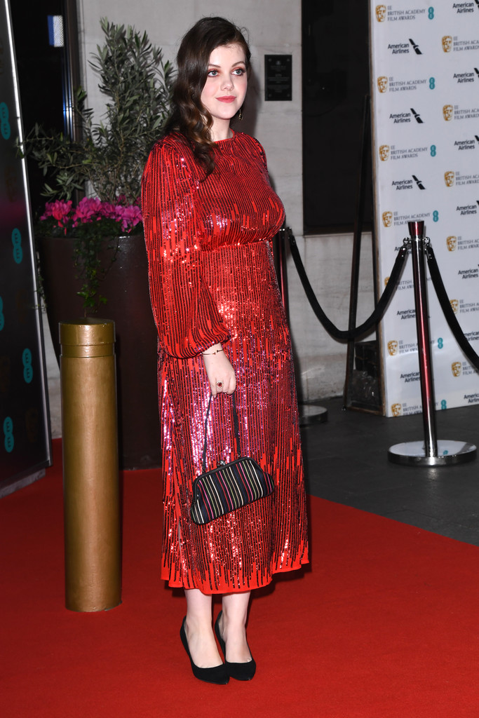Georgie Henley Georgie Henley Photos Ee British Academy Film Awards 2020 After Party Arrivals Zimbio