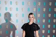 Margot Robbie attends the EE British Academy Film Awards 2020 at Royal Albert Hall on February 02, 2020 in London, England.